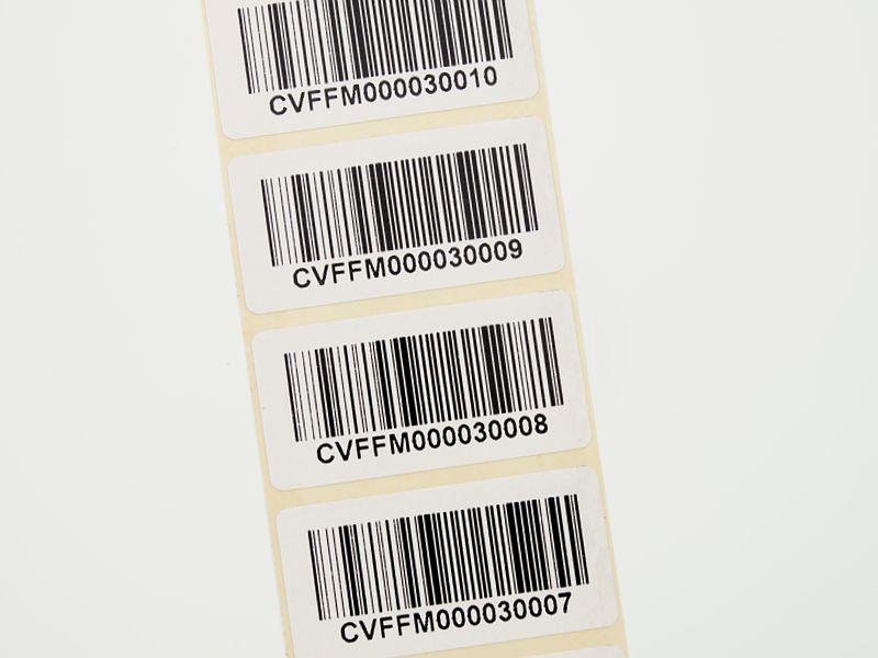barcode etiketten drucken auf rolle. Black Bedroom Furniture Sets. Home Design Ideas