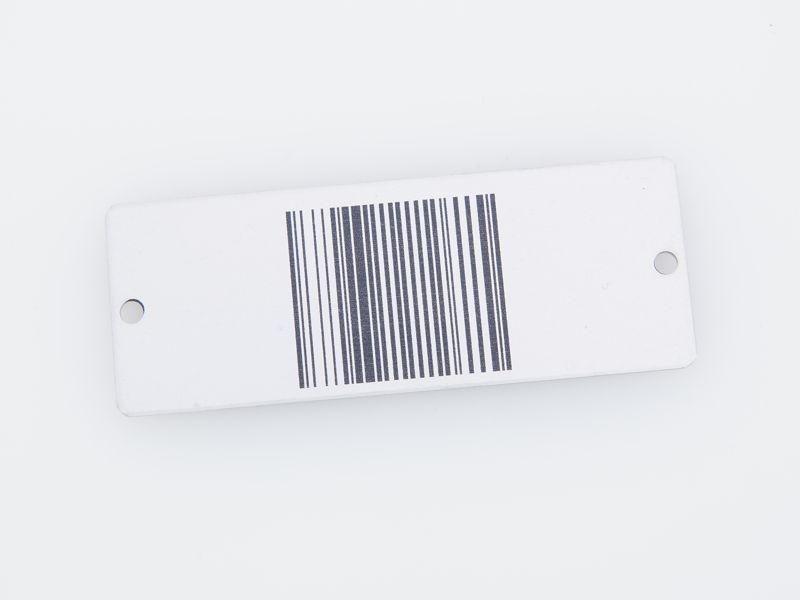 barcodeschilder barcode schilder aus metall gravieren. Black Bedroom Furniture Sets. Home Design Ideas